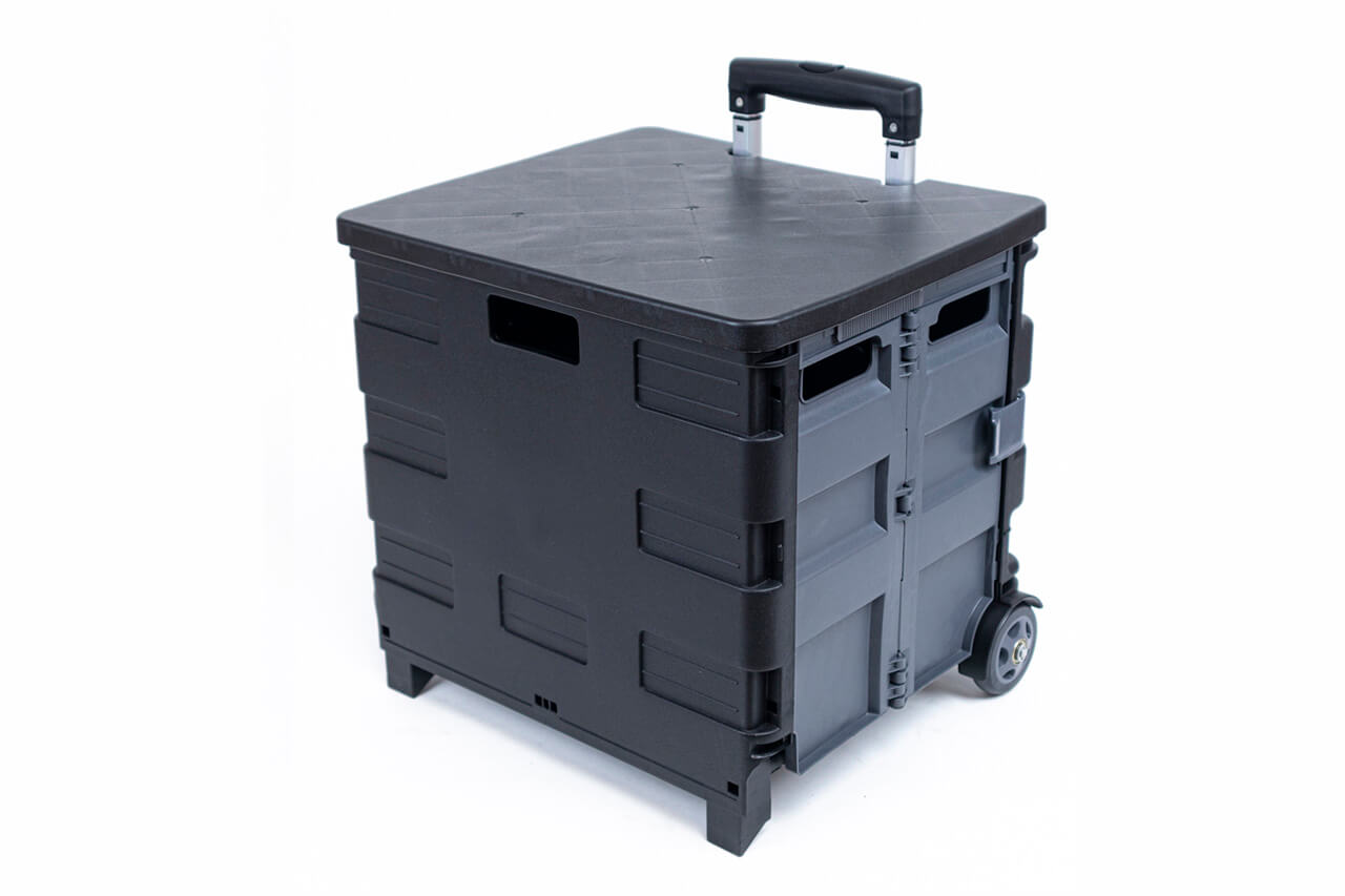 Органайзер на колёсах чёрно-серый